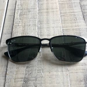 RAY-BAN RB 3508 135-71 BLACK used